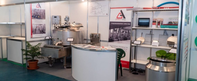 Stabilengineering - Alfa presented the small dairy equipment of AGRA 2019